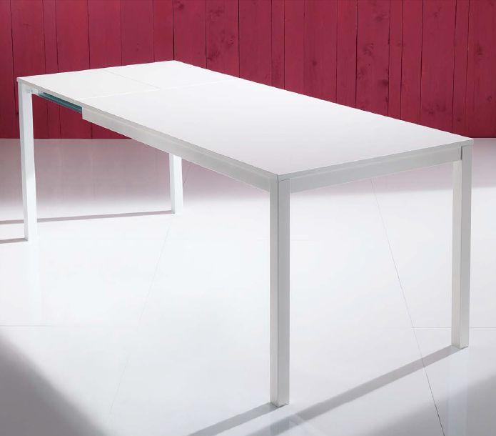 Tavolo mago l 140 x p 80 cm tavoli moderni for Tavolo consolle 80 cm