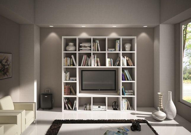 Vendita online shoparreda librerie mensole soggiorno - Fissaggio mobili a parete ...