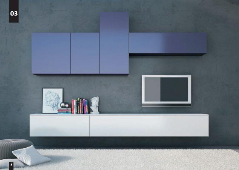 KICO LIVING Composizione N. 3 Moderno - soggiorno