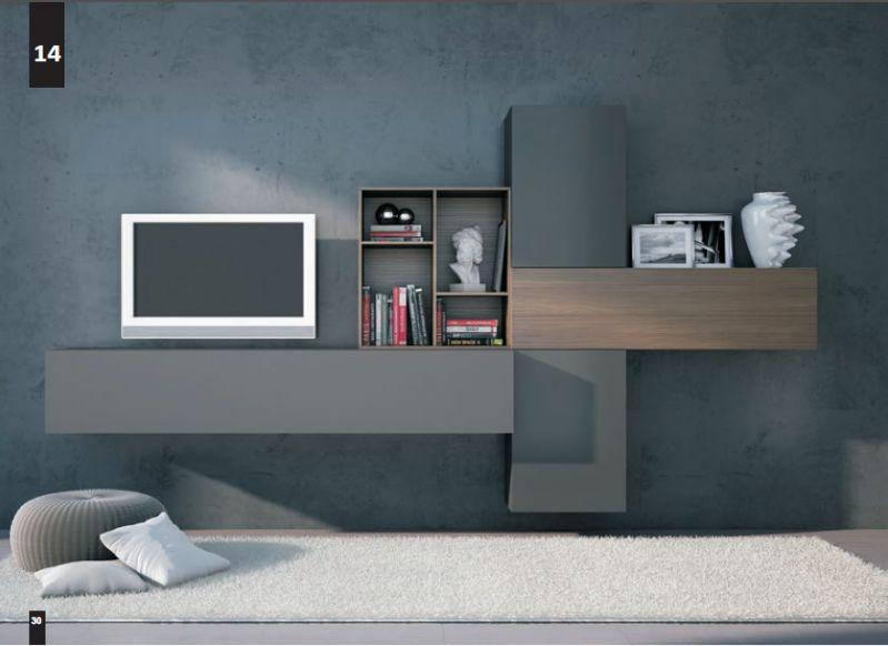 Kico living composizione n 14 moderno soggiorno for Shop arreda