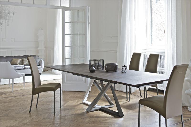 Tavolo millennium l 160 x tavoli moderni for Tavoli allungabili moderni