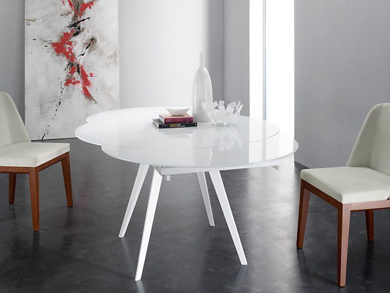 vendita online shoparreda tavoli moderni allungabili - tavoli - Tavolo Rotondo Moderno Design