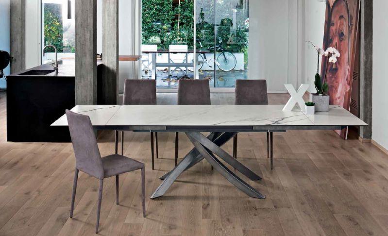 Tavolo Artistico Allungabile 20.64 L.190 x P.90 cm. tavoli moderni ...