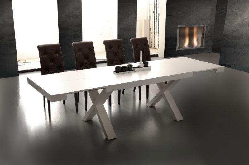 Tavolo Consolle Allungabile Magika.Tavolo Galileo 703 Tavoli Moderni Allungabili Tavoli