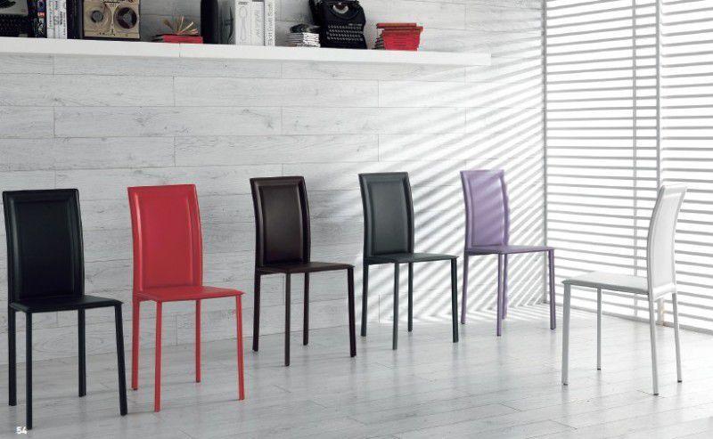 Sedia Net sedie ecopelle / pelle - sedute