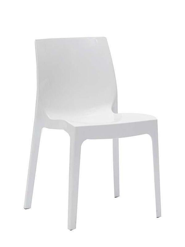 Sedia falena 047 propilene semilucido sedie moderne sedute for Sedie pieghevoli moderne