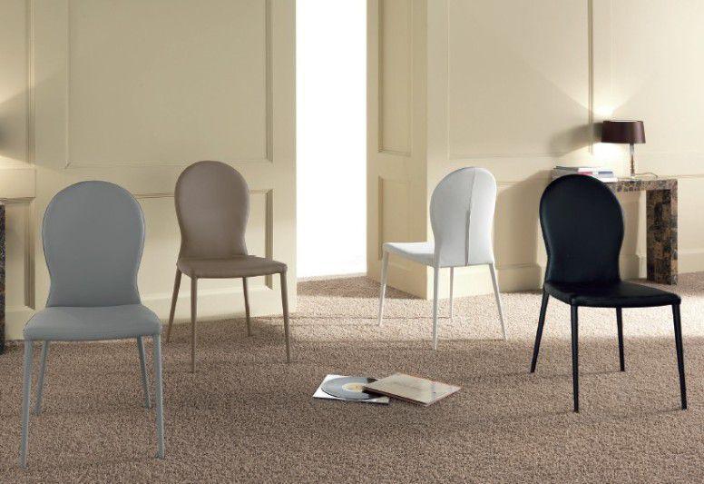 Sedia Smart sedie ecopelle / pelle - sedute