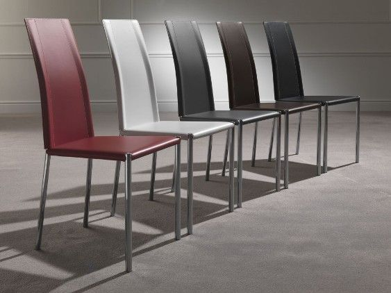 Sedia laser 218 sedie ecopelle pelle sedute - Tavolo e sedie moderne ...
