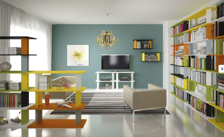 Awesome librerie soggiorno photos idee arredamento casa for Librerie vendita online