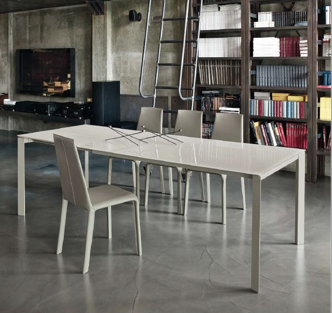 Tavolo Dublino 20.16 L. 120 x P. 80 cm. tavoli moderni allungabili ...