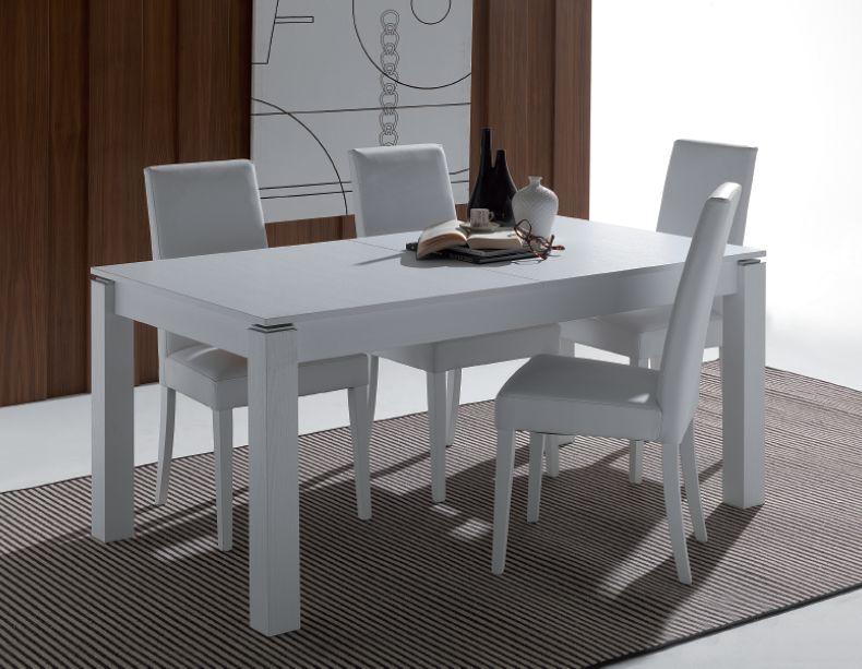 Tavolo rialto 628 tavoli moderni allungabili tavoli for Tavoli moderni allungabili