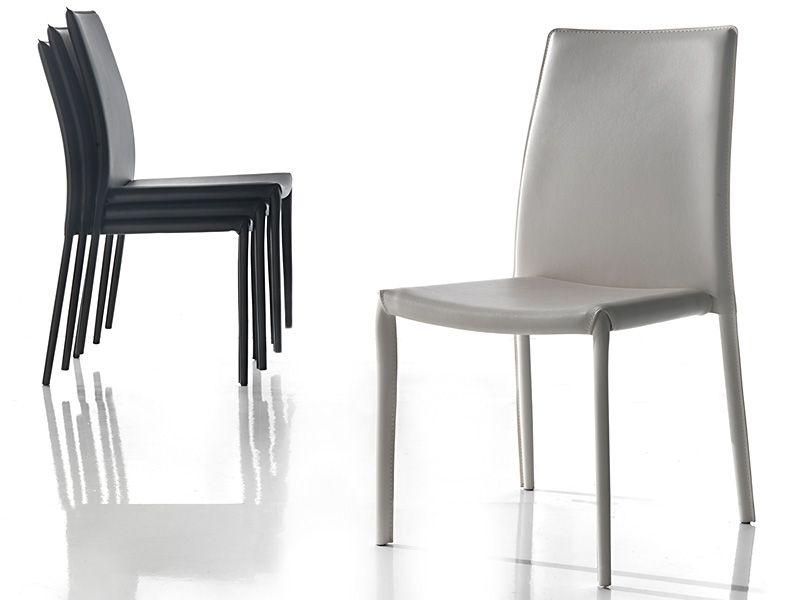 Sedia Vanity sedie ecopelle / pelle - sedute