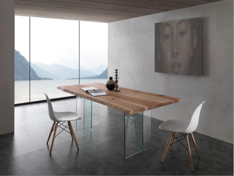 Tavolo bio glass 704 ve tavoli moderni fissi tavoli for Tavoli moderni