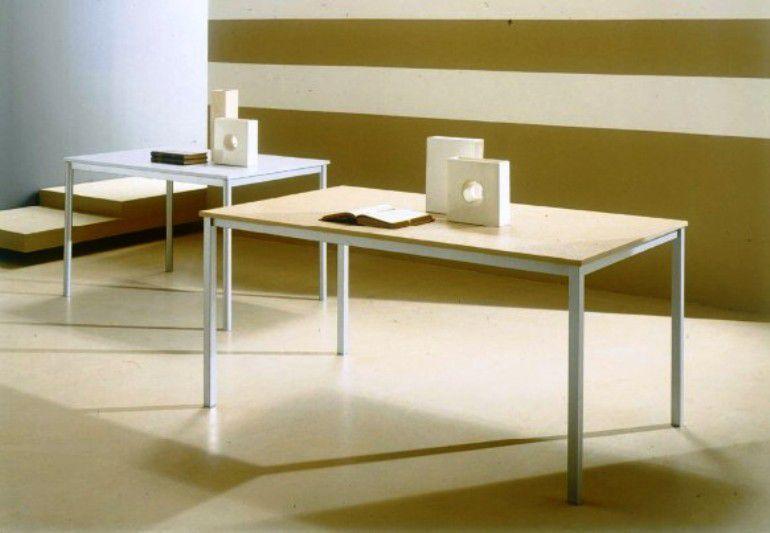 Tavolo bios l 80 x p 80 cm tavoli moderni fissi for Tavolo consolle 80 cm
