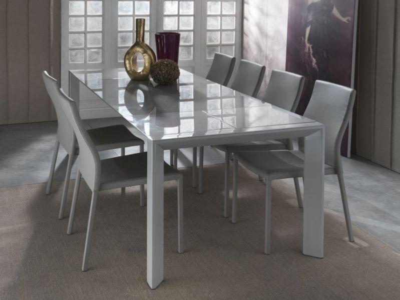 Vendita online shoparreda tavoli for Tavolo allungabile in cristallo