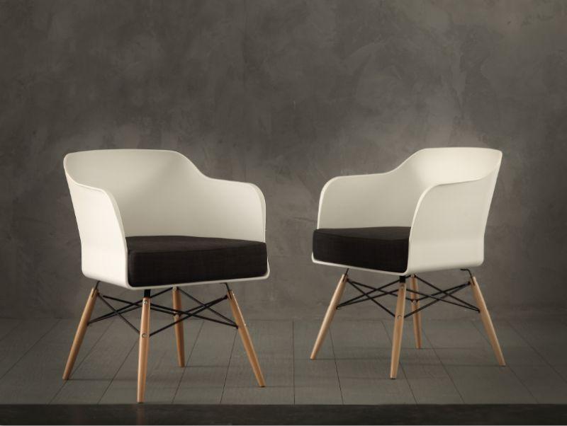 Poltroncina nordika 026 sedie moderne sedute for Sedie a poltroncina