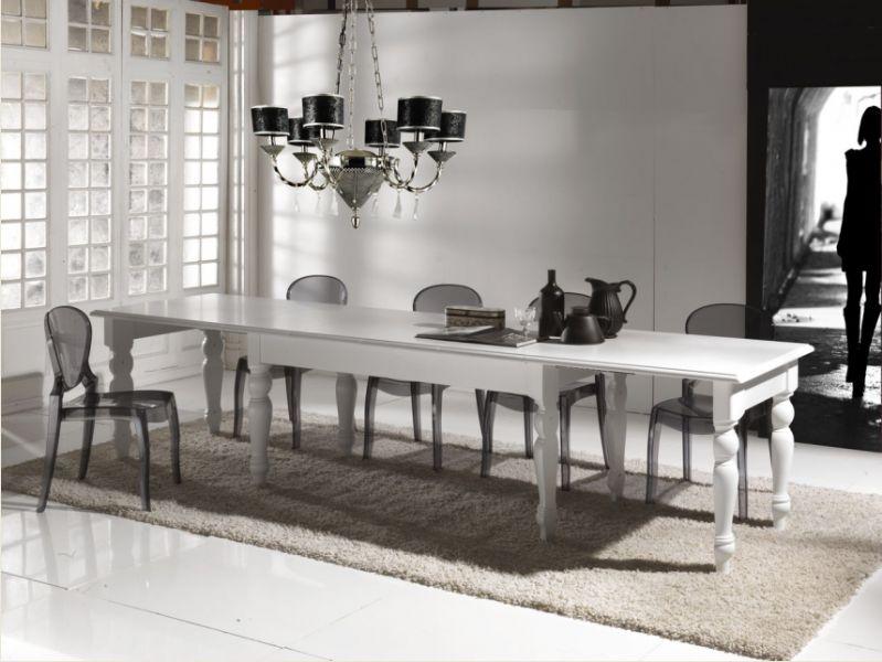 Tavolo ulisse 706 tavoli classici fissi allungabili tavoli for Tavoli classici allungabili