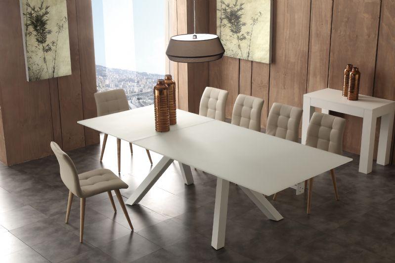 Tavolo aliante 652 tavoli cristallo allungabili tavoli for Tavoli soggiorno cristallo allungabili