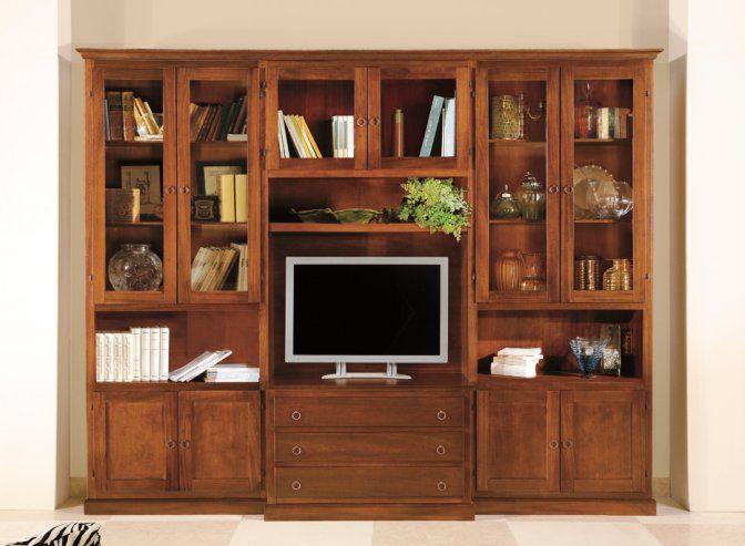 Composizione classico 200 f classico soggiorno for Shop arreda