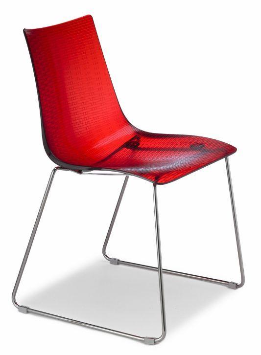 Sedie A Slitta Moderne.Sedia Dea Antigraffio A Slitta Sedie Moderne Sedute