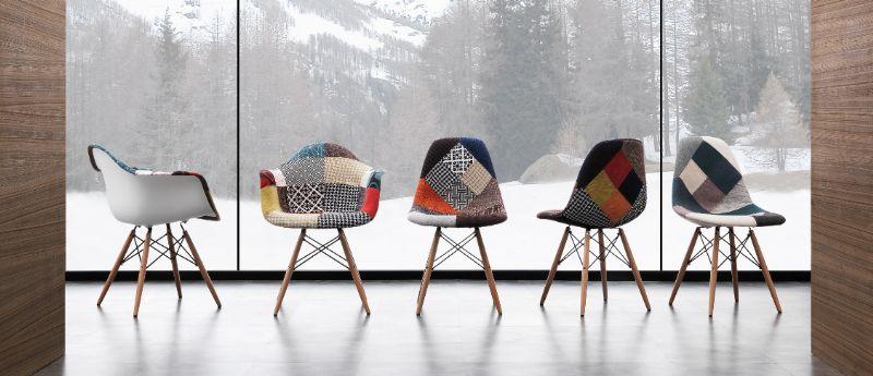 Sedia legend patch 023 sedie moderne sedute for Sedie moderne salotto