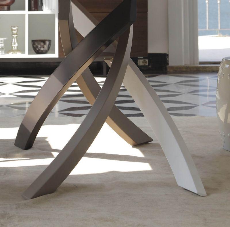 Tavolo artistico allungabile x cm tavoli for Tavoli allungabili cristallo