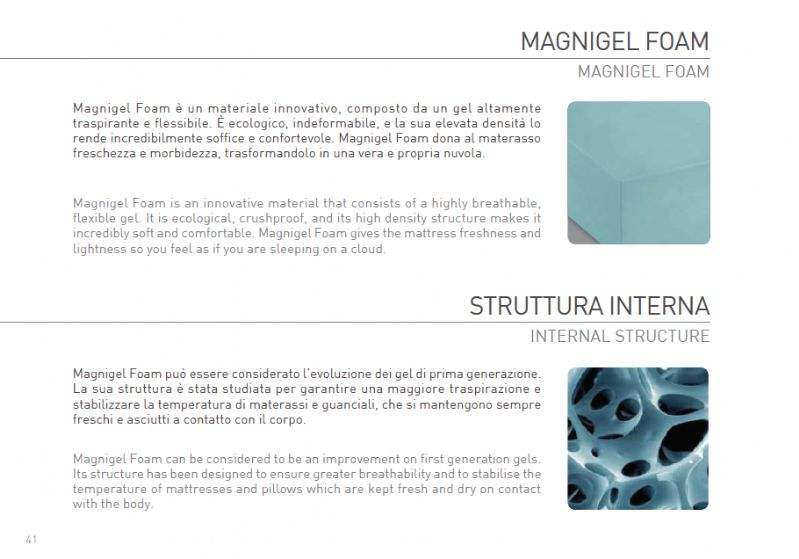 Materasso Magniflex Magnigel 9 materassi magniflex - materassi